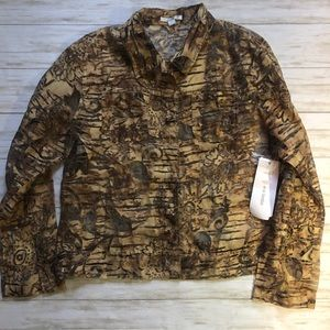 💚erin london sheer burn out shirt